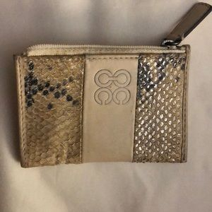 Coach card and key holder Vintage